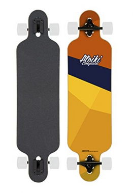 "Aloiki Aloe Komplett Longboard 39.1"" - drop trough - 1"
