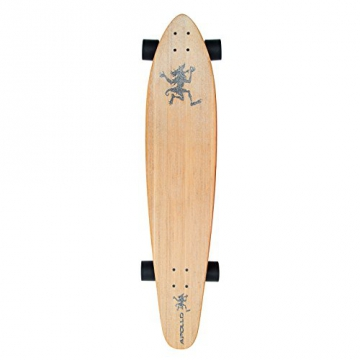 Apollo Longboard, Hawaiian Wulff Kicktail, 106.7 cm x 22.9cm - 1