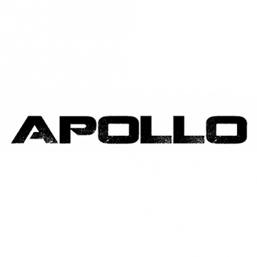 Apollo Twin-Tip Drop-Thru Longboard, Hinano Black & White, 99cm (39 inch) x 23,49cm (9,25inch)