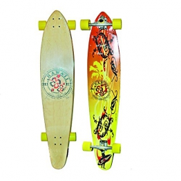 "Area Longboard Skateboard, Hawaii, 116,3 cm (45,8 Zoll)x9,625"" - 1"