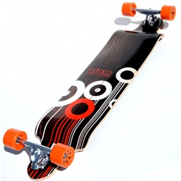 Atom Drop Down Longboard - Orange, 41 Inch - 1