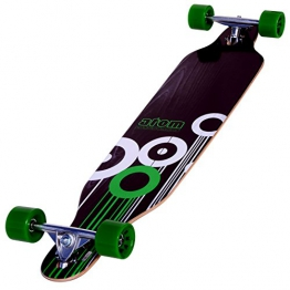 Atom Drop Through Longboard - Grün, 41 Inch - 1