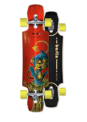 Bustin Longboards Mini Maestro 34 Monkey Graphic, 1211000343 - 1