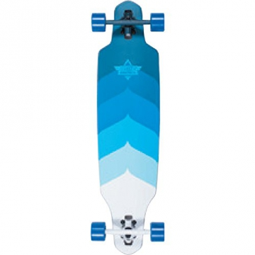 Dusters Wake Kryptonic Blue Longboard - 38 inch - 1
