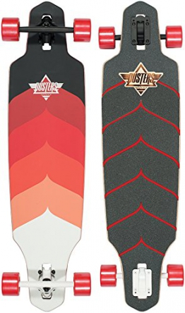 Dusters Wake Kryptonic Red Longboard - 38 inch - 1