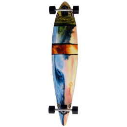 Earthship Longboard Karina's Dream, multicolor, 46'' x 9.75'', 105ES012 - 1