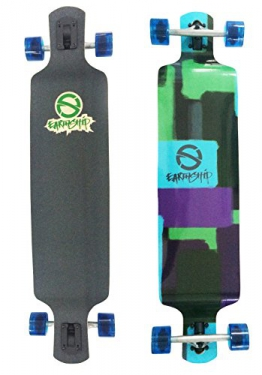 Earthship Longboard Resin Block Session 41 Zoll, 105ES026 - 1