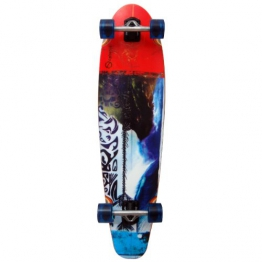 Earthship Longboard Tribal, multicolor, 39'' x 10'', 105ES014 - 1