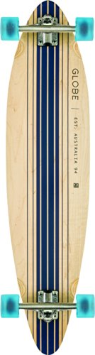 Globe Longboard Pinner Complete, Natural/Blue, One size, 10525025