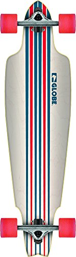 Globe Longboard Prowler Cruiser 38.5, White/Blue/Red, One size, 10525060