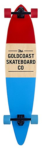 GoldCoast Longboard Standard, Red, One Size, COM-STDRED - 1