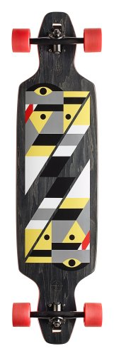 GoldCoast Serpentagram Longboard, Black - 40 inch - 1
