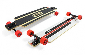 Hammond Longboard B-40 Twin Tip Drop Through Skateboard - 1