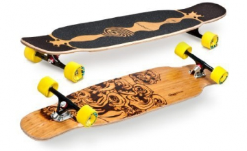 Loaded Bhangra Flex 1 Complete Longboard Skateboard by Loaded - 1