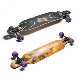 "Loaded Boards Dervish Sama 42.8"" Flex 3 Complete - 1"