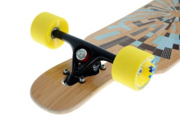 Loaded Tan Tien Bamboo Flex 3 Komplett Longboard