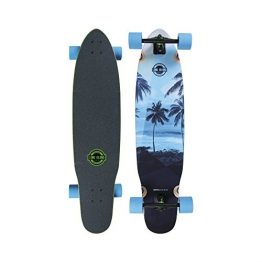 "Long Island Longboard M0760-Palm Kicktail Cruiser 8,8""x38,6"" - 1"