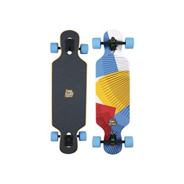 "Long Island Longboard M0913-Sun Mini-Drop-Through Twin Tip 9,5""x34,5"" - 1"