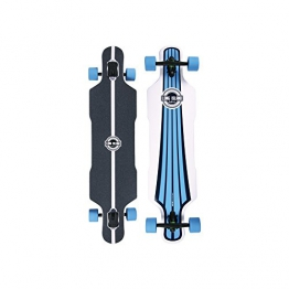 "Long Island Longboard MB116-Urban Drop Through Twin Tip 10""x41,68"" - 1"