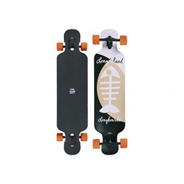 "Long Island Longboard MB121-Bone Drop Through Twin Tip 9,96""x41.1"" - 1"
