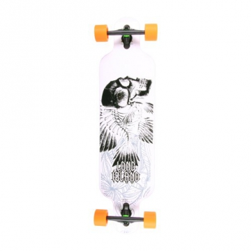 Long Island Longboards Skull Komplett - green - 1