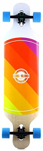 Long Island World Komplett Longboard - White - 1
