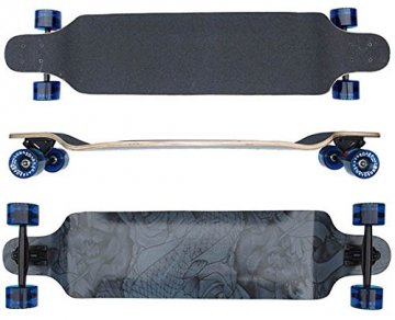 Longboard 41 INCH DropDown ABEC-9 Kugellager NEU von Selltex - 1
