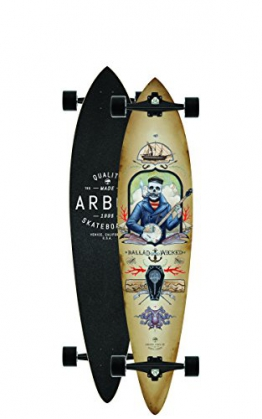 "Longboard Complete Arbor Fish GT 9"" Complete - 1"