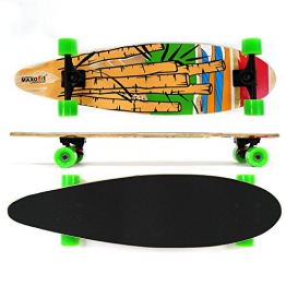 Longboard MAXOfit® No. 05 Cartoon, 84 cm, 7 Schichten Ahorn, Drop Down, Aktion solange der Vorrat reicht - 1
