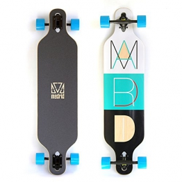 "Madrid Longboard Trance 39"" (99 cm x 24,5 cm) - Drop-Thru Board - 1"