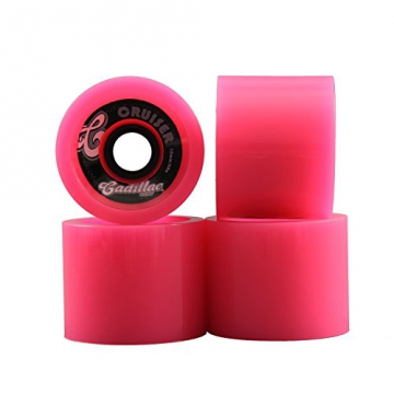 Madrid Longboard Wheels Rollen Wheel Set | Cruiser Cadillac | in Pink - Ersatzrollen - 1