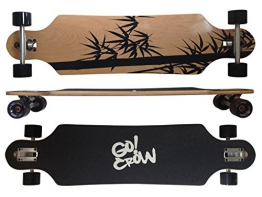 MAXOfit Deluxe Longboard Crow 9 Schichten Maple, 104 cm, or-19012 - 1