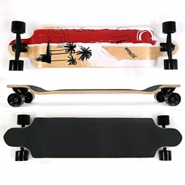 MAXOfit Longboard Long Beach 9 Schichten Maple, 104 cm, 19119 - 1