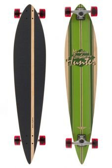 Mindless Hunter II Longboard, Green - 44 inch - 1
