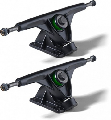 Mindless Longboard Profi Achsen Set Schwarz 180mm (2 Achsen) - Long Board Skateboard Truck Set - Trucks - 1