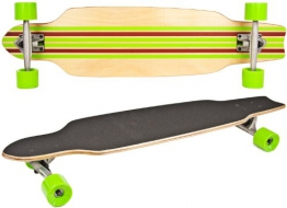 Nick and Ben Longboard Cruiser Skateboard Deluxe - 1