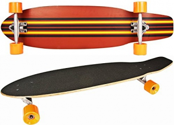 Nick and Ben Longboard Cruiser Skateboard Deluxe