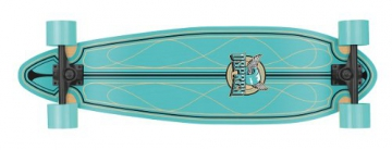 Osprey Longboard Rounded Pintail Cruiser, helix, TY5254 - 1