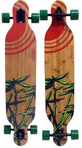 Paradise Bamboo Sun Drop Through Bamboo Komplett Longboard - 1