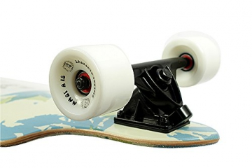 Paradise Complete Longboard Kicktail The Mallows 40.0 x 9.0