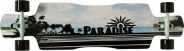 Paradise Longboard Black Ocean Drop Through, weis, 104.14 x 26.04 cm, 4250668967115 - 1