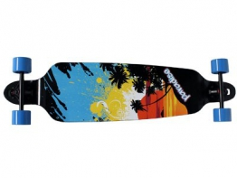 Paradise Sunsplash DropTrough Complete Longboard - 1