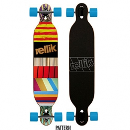 Rellik Longboard Pattern Drop through twin tip 42,125 x 8,5 - 1