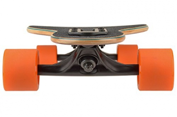 Rellik Orange Leaves 8.5″ x 38″ Komplett Longboard
