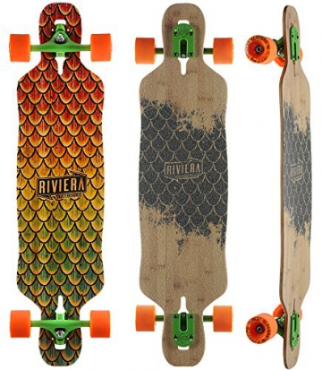 Riviera - Beta Fish Mini Drop Through Longboard - Complete - 1