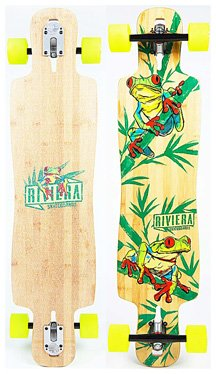 Riviera Longboard - La Rana Drop Through - Complete - 1