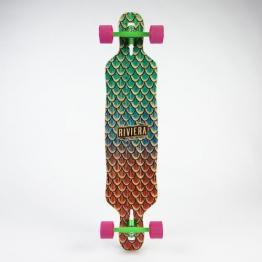 Riviera - Sea Snake Drop Through Longboard - Complete - 1