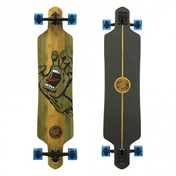 Santa Cruz Longboard Stained Hand Bamboo Drop Thru, 9.2 x 41.0 Zoll, SANLOBSTHABADT - 1