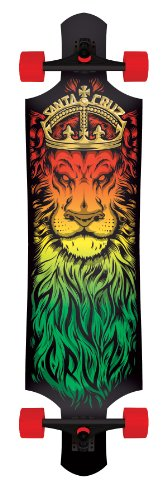 Santa Cruz Skateboard Longboard Lion God Drop, 10.0 x 40.0 Zoll, 11112867 - 1