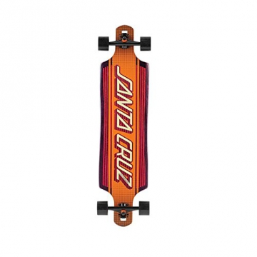 Santa Cruz Skateboard Longboard Strip Inlay Kevlar Drop, 10.0 x 40.0 Zoll, SANLOBSTINKE - 1